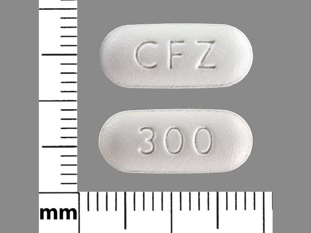 Imprint CFZ 300 - Invokana 300 mg