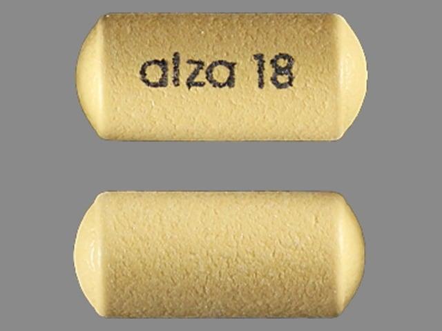 Imprint alza 18 - Concerta 18 mg
