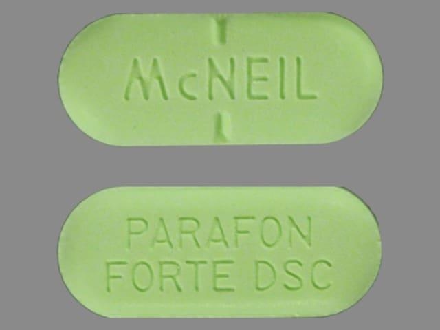 Image 1 - Imprint MCNEIL PARAFON FORTE DSC - Parafon Forte DSC 500 mg