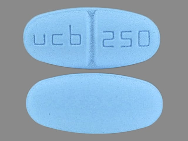 Imprint ucb 250 - Keppra 250 mg