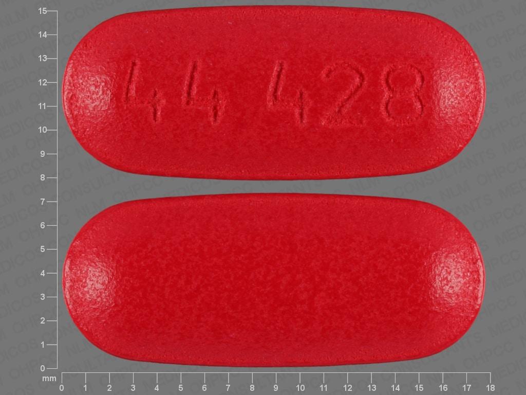 Imprint 44 428 - acetaminophen/caffeine 500 mg / 65 mg