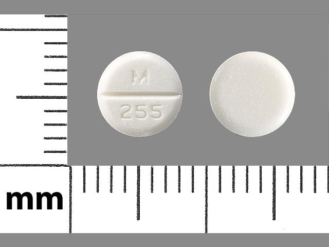Imprint M 255 - albuterol 2 mg