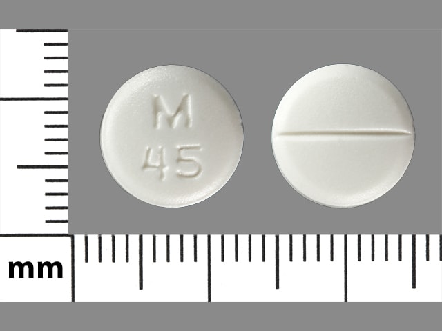 Imprint M 45 - diltiazem 60 mg