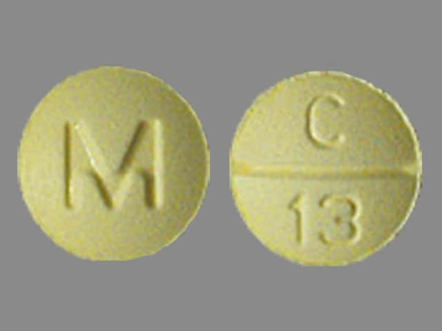Imprint M C 13 - clonazepam 0.5 mg