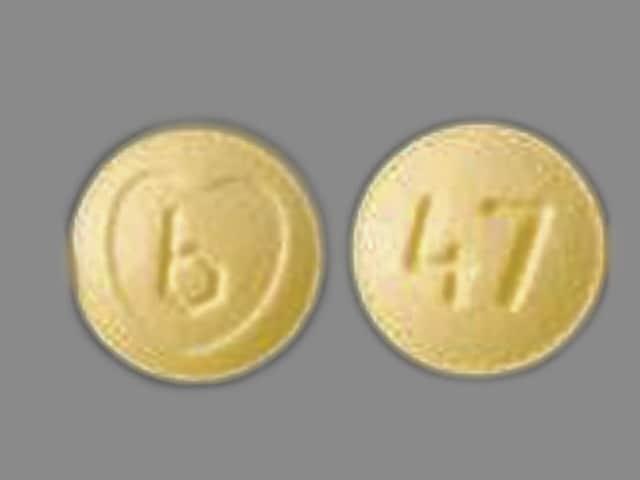 Imprint b 47 - Ziac 2.5 mg / 6.25 mg