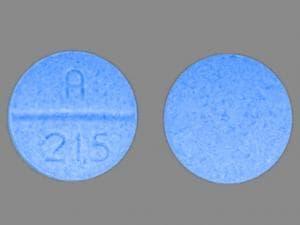 Imprint A 215 - oxycodone 30 mg