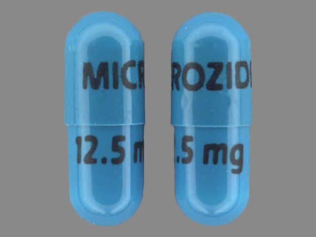 Imprint MICROZIDE 12.5 mg - Microzide 12.5 mg