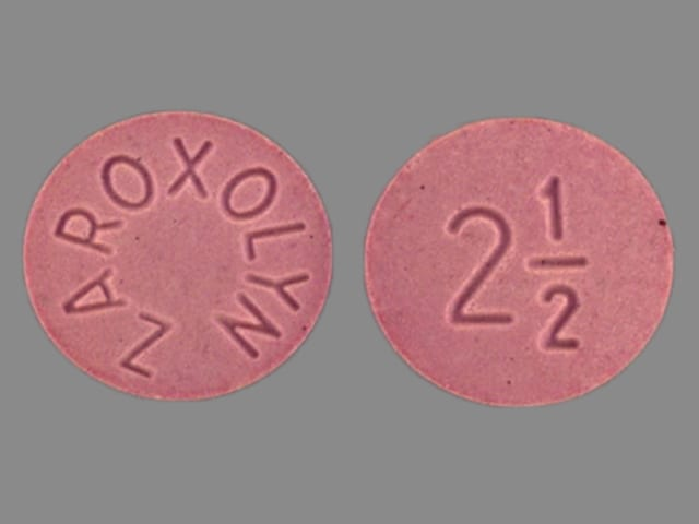Image 1 - Imprint ZAROXOLYN 2 1/2 - Zaroxolyn 2.5 mg