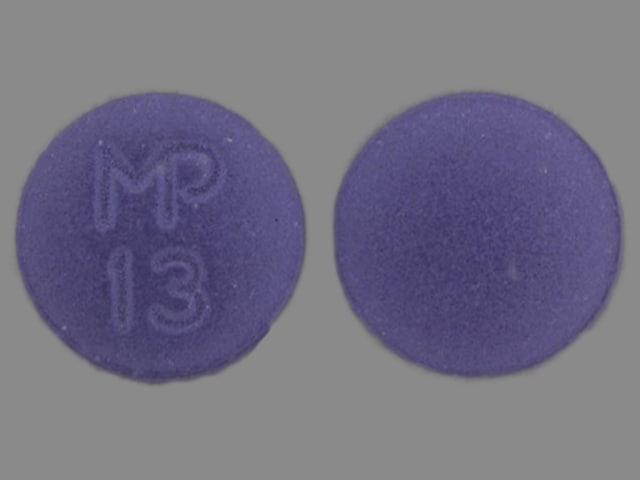 Image 1 - Imprint MP 13 - hydroxyzine 50 mg