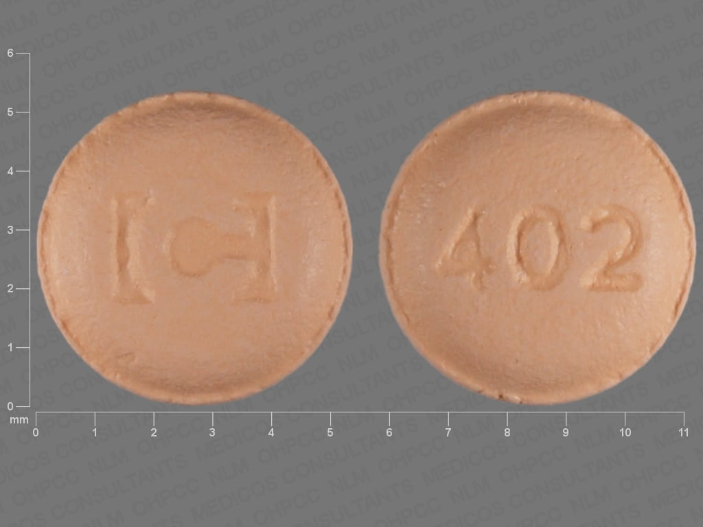 Imprint C 402 - tiagabine 2 mg