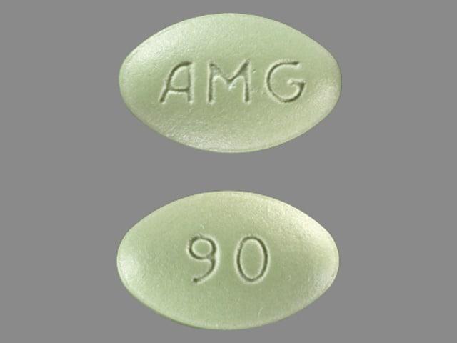Imprint AMG 90 - Sensipar 90 mg