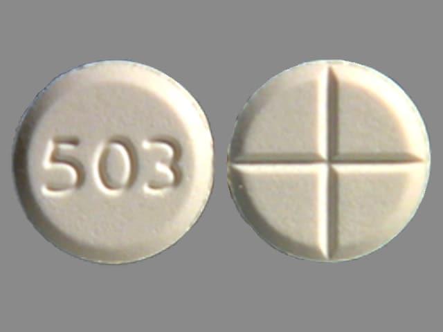 Imprint 503 - tizanidine 4 mg