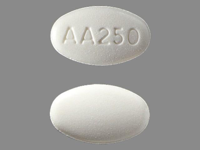 Imprint AA250 - Zytiga 250 mg