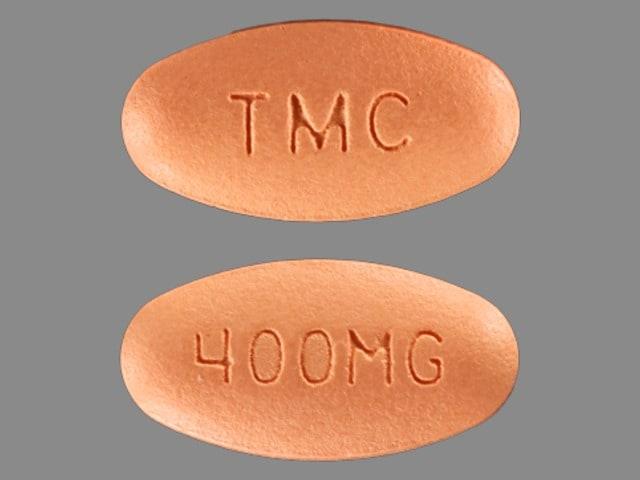 Imprint TMC 400MG - Prezista 400 mg