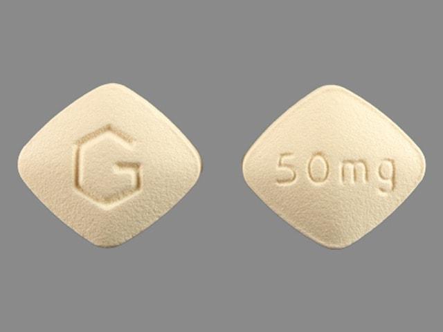 Imprint G 50mg - eplerenone 50 mg