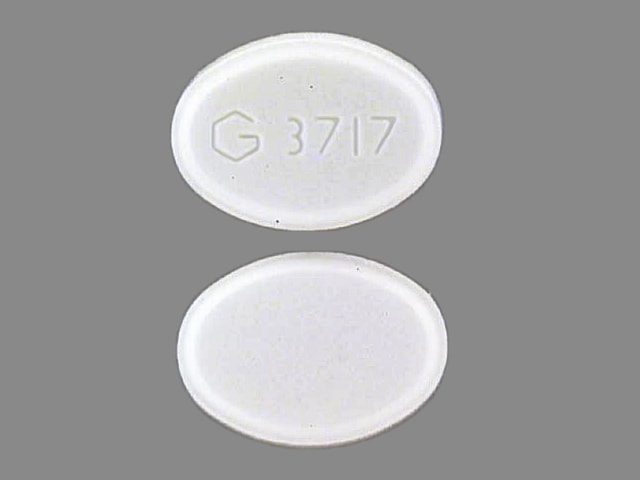 Imprint G 3717 - triazolam 0.125 mg