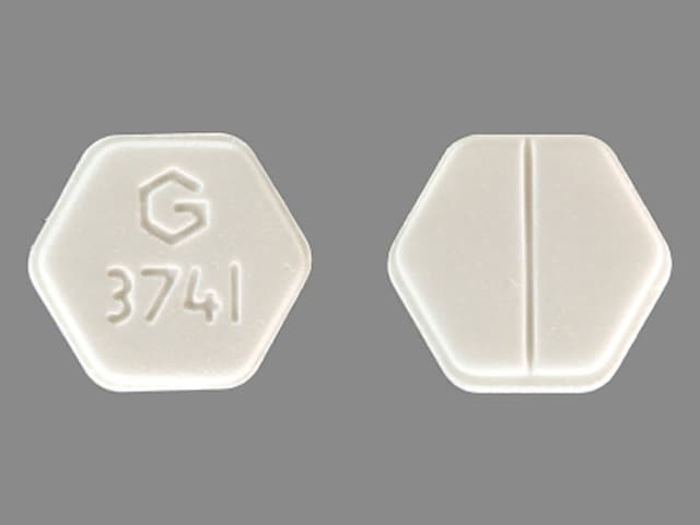 Imprint G 3741 - medroxyprogesterone 5 mg