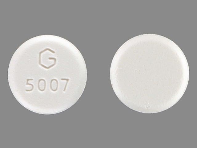 Imprint G 5007 - misoprostol 100 mcg