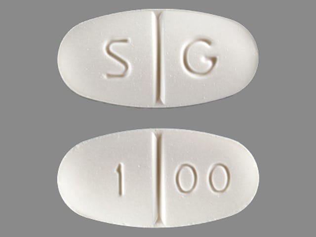Imprint S G 1 00 - nevirapine 200 mg
