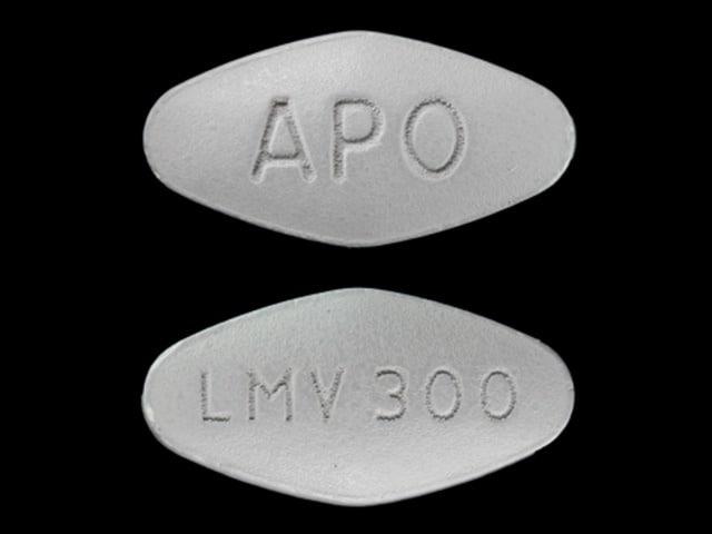Imprint APO LMV 300 - lamivudine 300 mg
