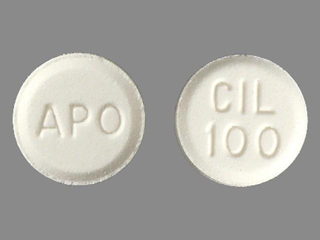 Imprint APO CIL 100 - cilostazol 100 mg