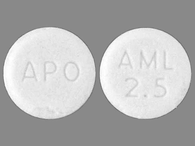 APO AML 2.5 - Amlodipine Besylate