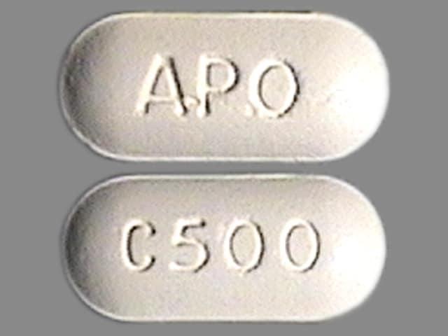 Imprint APO C500 - cefuroxime 500 mg