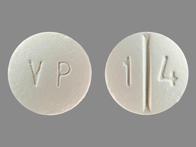 Imprint VP 1 4 - ethambutol 400 mg