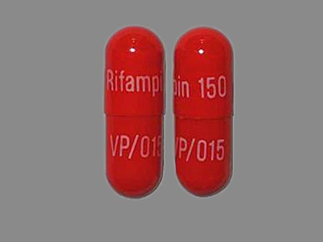 Image 1 - Imprint Rifampin 150 VP/015 - rifampin 150 mg
