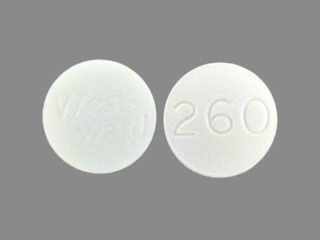 Image 1 - Imprint WestWard 260 - isoniazid 100 mg