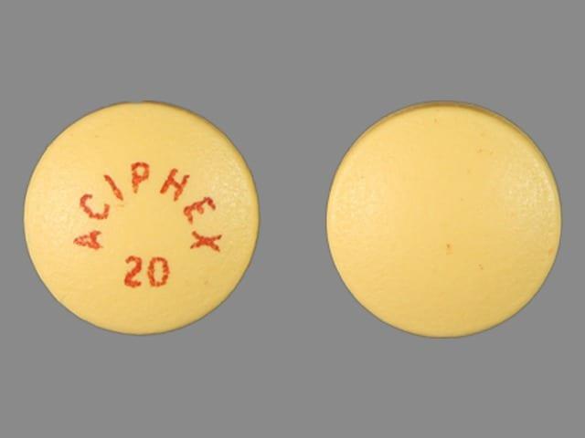 Imprint ACIPHEX 20 - Aciphex 20 MG