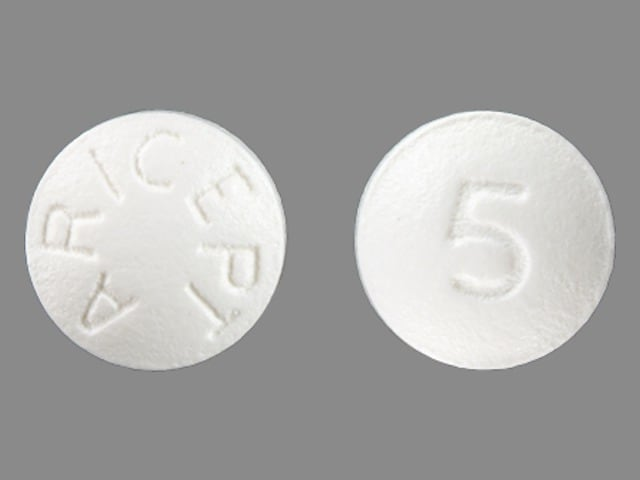 Imprint ARICEPT 5 - Aricept 5 mg