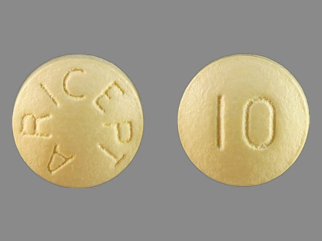 Imprint ARICEPT 10 - Aricept 10 mg