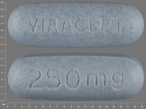 Imprint VIRACEPT 250 mg - Viracept 250 mg