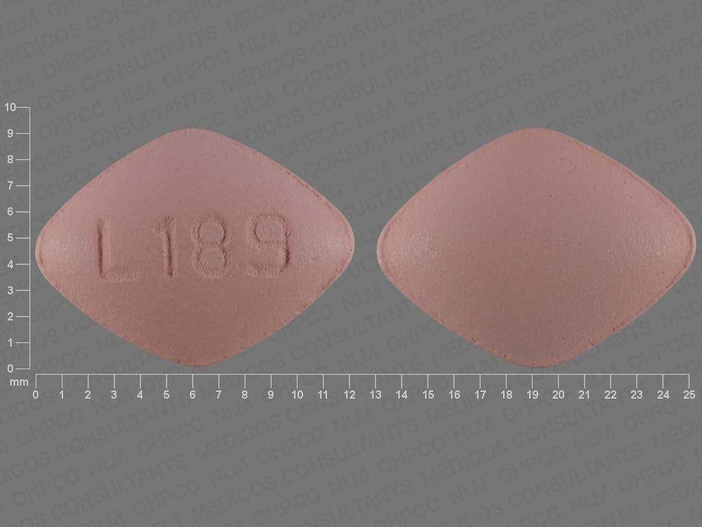 Imprint L189 - desvenlafaxine 50 mg