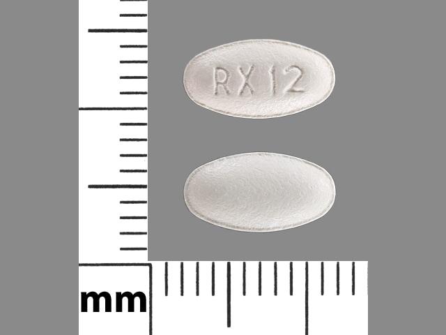 Imprint RX 12 - atorvastatin 10 mg