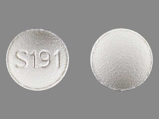 Imprint S191 - Lunesta 2 mg