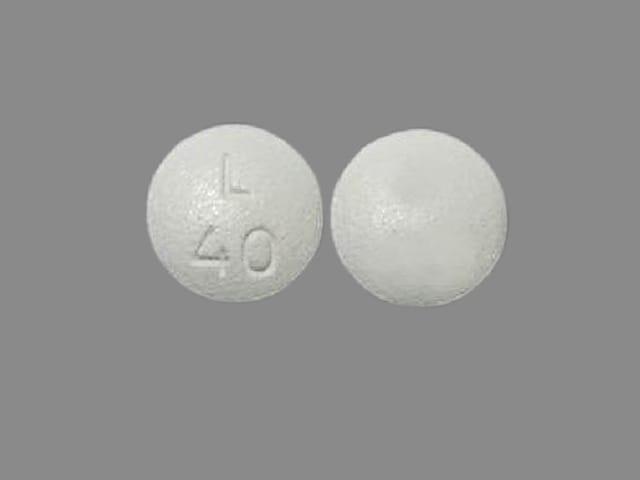 Imprint L 40 - Latuda 40 mg
