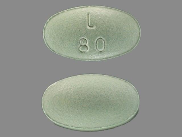 Imprint L 80 - Latuda 80 mg