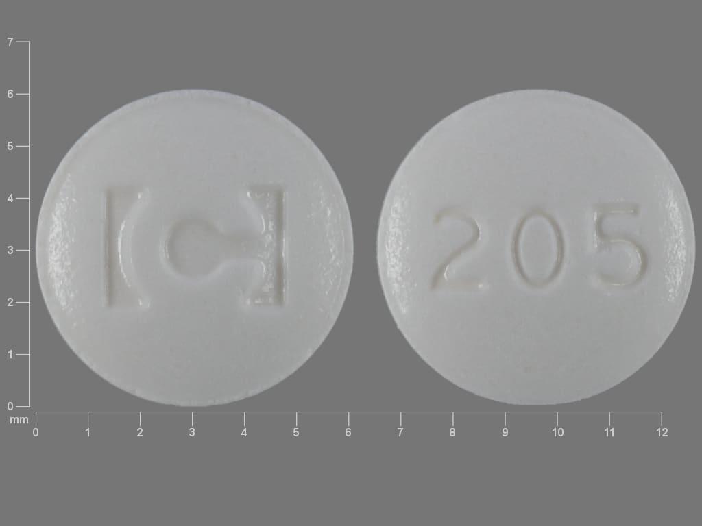 Imprint C 205 - armodafinil 50 mg