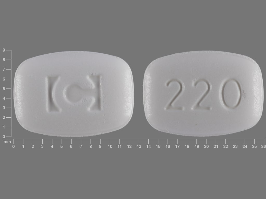 Imprint C 220 - Nuvigil 200 mg