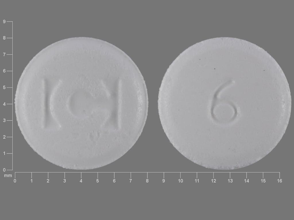 Imprint C 6 - Fentora 600 mcg