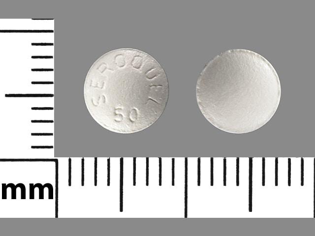 Imprint SEROQUEL  50 - Seroquel 50 mg