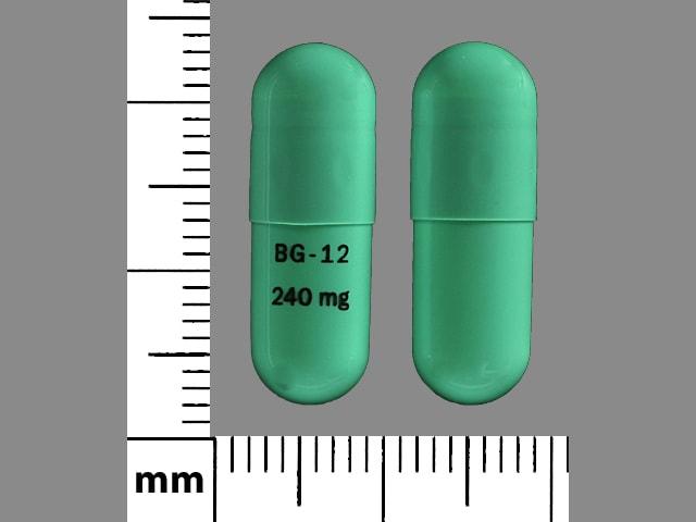 Imprint BG-12 240 mg - Tecfidera 240 mg