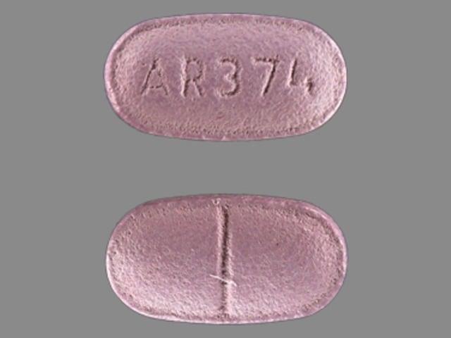Imprint AR 374 - colchicine colchicine 0.6 mg