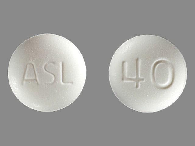 Imprint ASL 40 - Edarbi 40 mg
