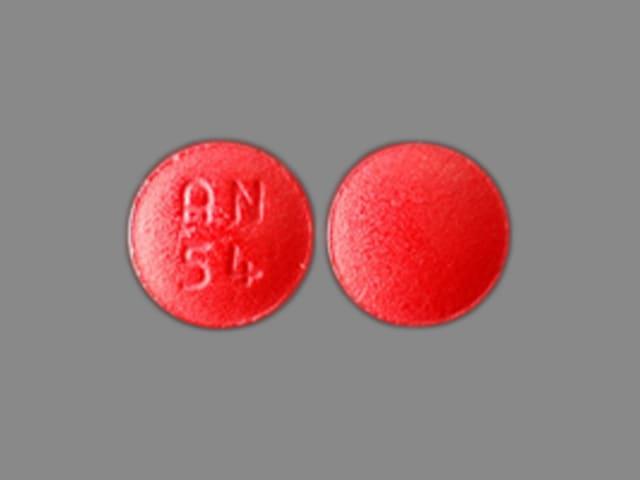 Imprint AN 54 - demeclocycline 150 mg