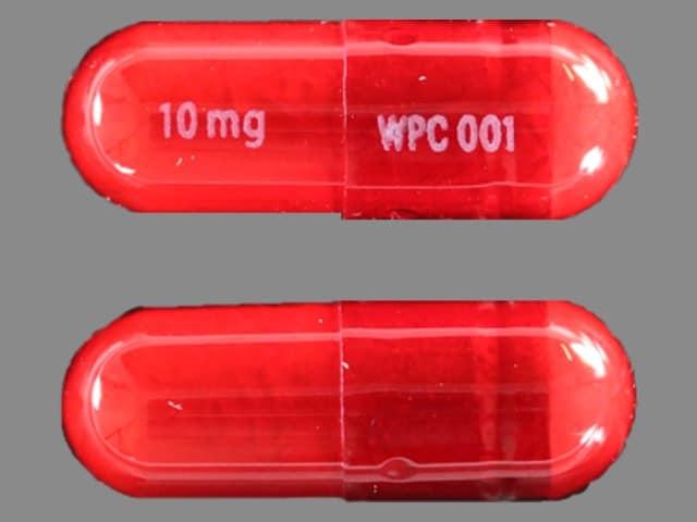 Imprint 10 mg WPC 001 - Dibenzyline 10 mg