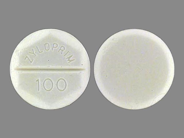 Imprint ZYLOPRIM 100 - Zyloprim 100 mg