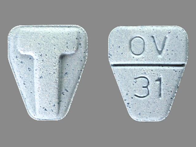 Imprint T OV 31 - Tranxene T-Tab 3.75 mg